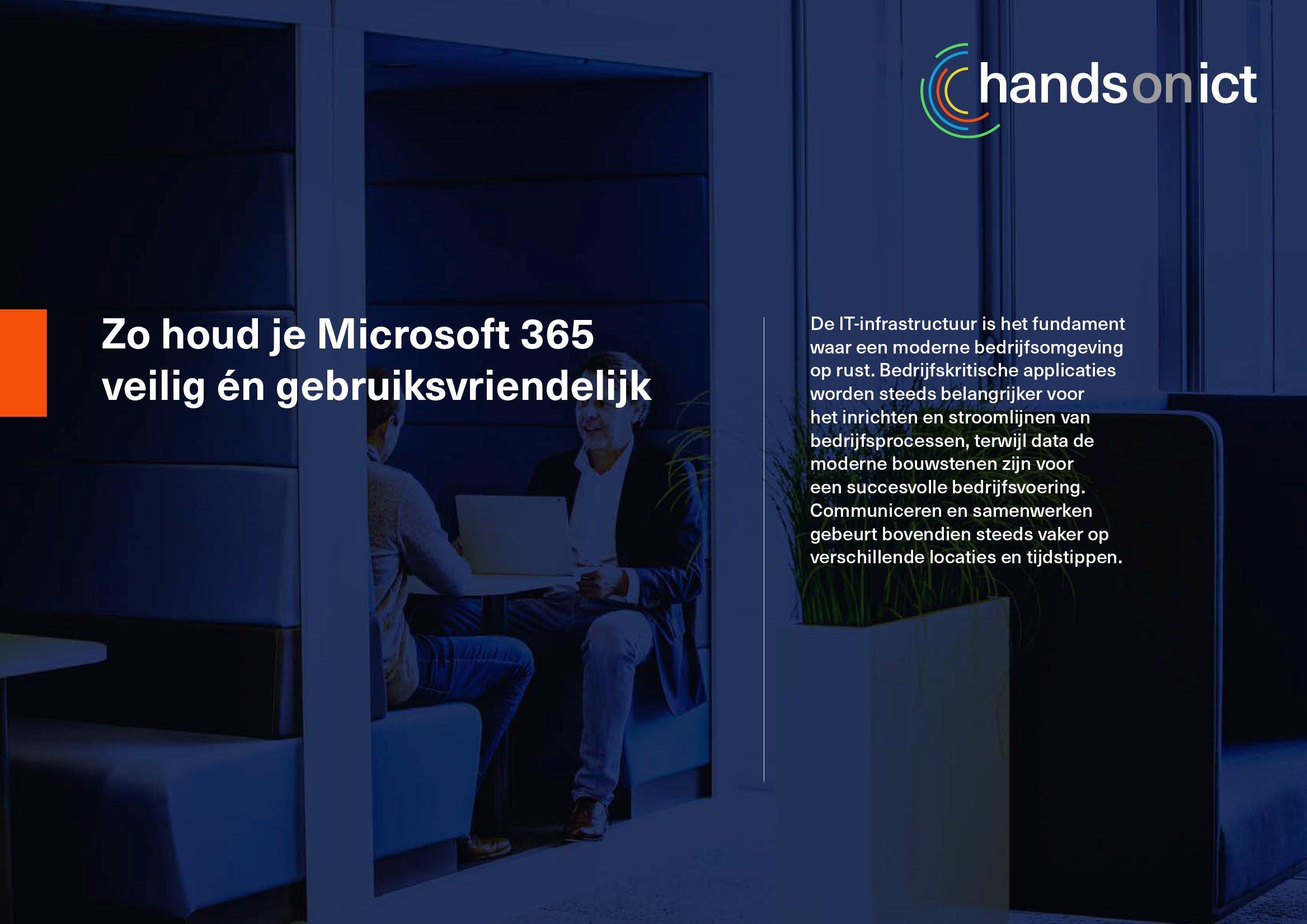 Zo houd je Microsoft 365 veilig én gebruiksvriendelijk