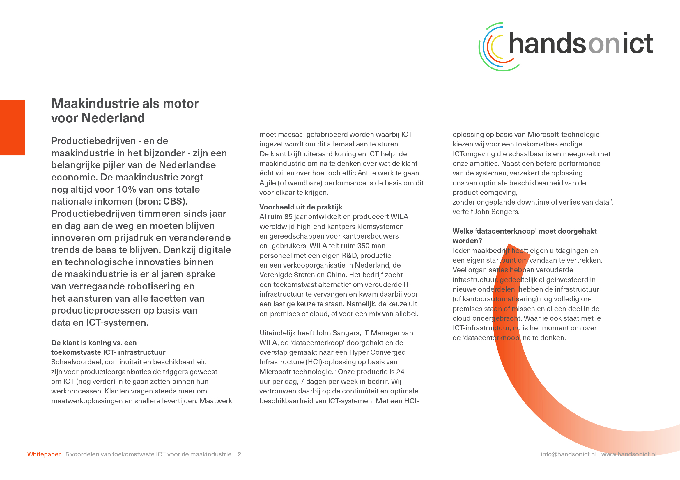 Sneak preview_2 whitepaper 5 voordelen toekomstvaste ICT