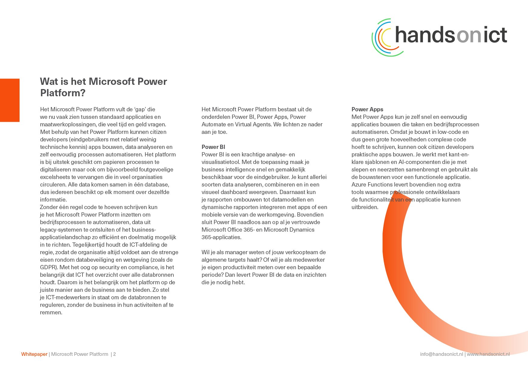 Sneak preview_whitepaper PowerPlatform 2