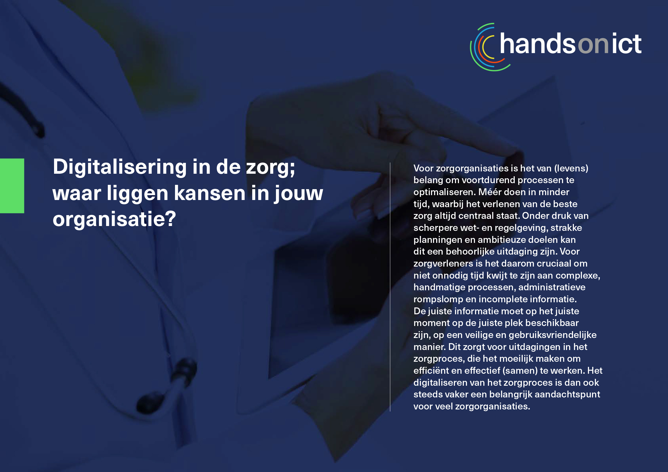 Sneak preview_1 whitepaper digitalisering in de zorg